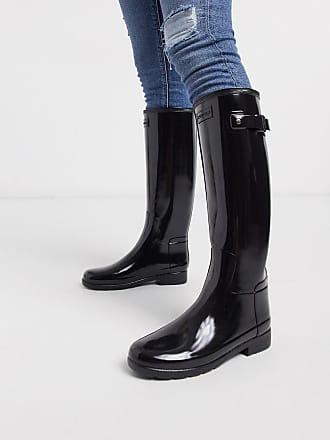 Mini Balabala Bottes Pluie Femme Caoutchouc Bottines Antid/érapant Wellington Boots Jardin Noir Bleu