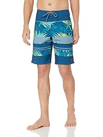 O'Neill Mens 20 Inch Outseam Ultrasuede Swim Boardshort, Dark Blue/Canopy, 33