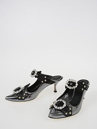 Dolce & Gabbana 6 cm Leather ALADINO Mules size 38,5