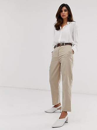 Y.A.S tailored pants in beige - Beige