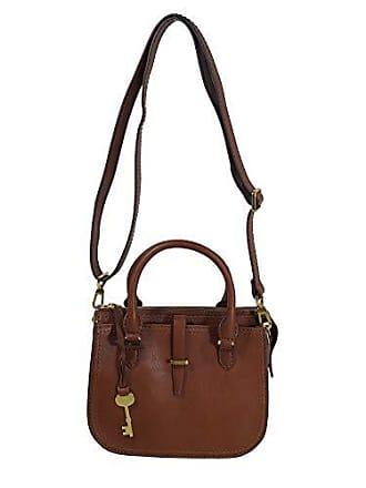 306063c25398b Fossil Damen Handtasche Tasche Ryder Mini Satchel Leder Braun ZB7587-200