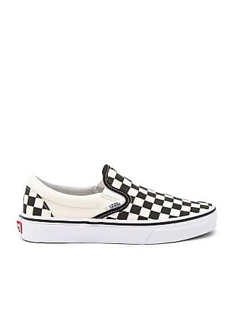 Vans Classic Slip On in Black & White