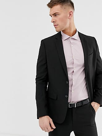 New Look skinny suit jacket in black - Black