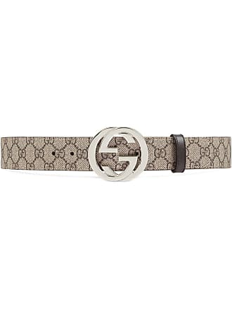 8cb5bb63e2f Gucci GG Supreme belt with G buckle - Neutrals