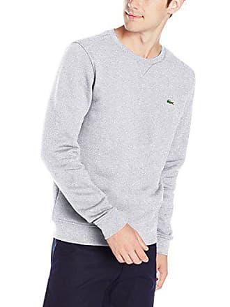 26551fe6e4f4 Lacoste Mens Brushed Fleece Crew Neck Sweatshirt