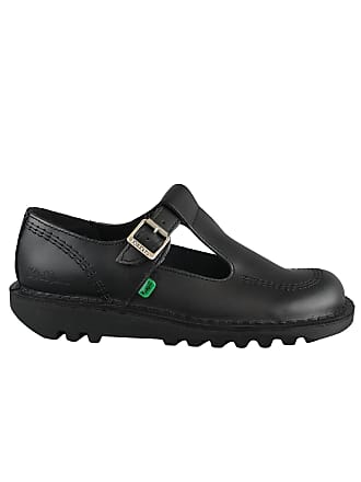 0c4b23613b1 Kickers Kick Lo Aztec W Core Black Black KF0000130BTW Ladies Strap Buckle  Shoes