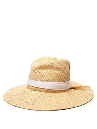 dd0223aa9d0 Lola Hats First Aid Raffia Wide Brim Hat - Womens - Light Tan