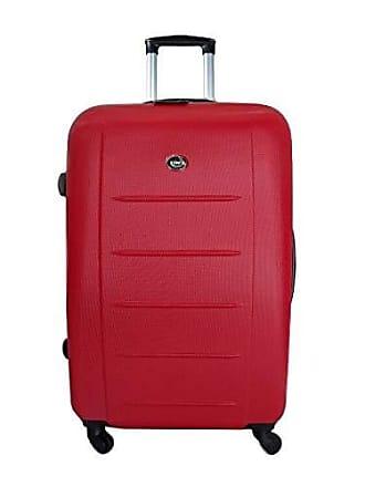 Yin's Mala de Viagem Grande ABS c/Carrinho Vermelha Yins 21018V