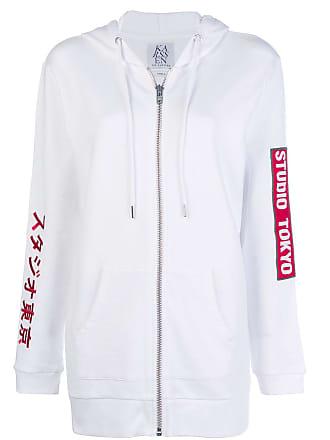 Zoe Karssen Studio Tokyo oversized zip hoodie - White