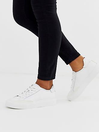 DKNY retro chunky sneakers-White