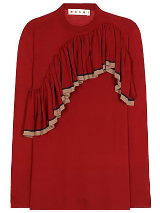 Marni Wool ruffle sweater
