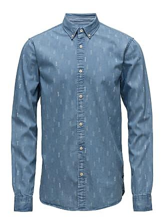 Scotch   Soda Ams Blauw Allover Print Shirt Regular Fit a0feeb21c7866