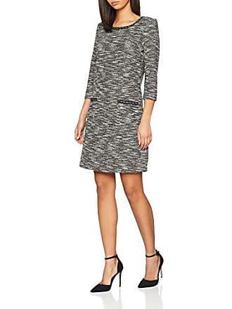 Tom Tailor Trendy Kleid Mit 3 4 Arm, Robe Femme, Noir (Black e4ee4cb41e