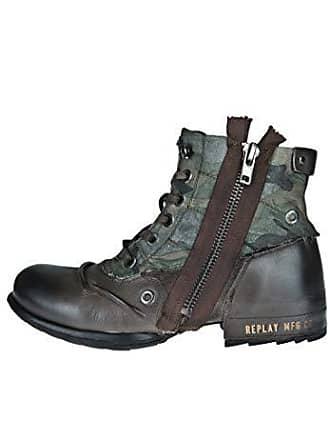 f28cf4a1171eb6 Replay GMU01.000.C0003L Herren Stiefelette Military Green