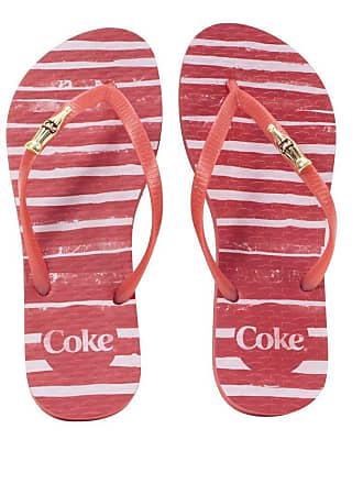 Coca Cola Ware Chinelo Feminino Coca Coca Paint Lines CC2350