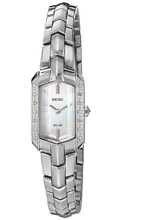 Seiko Tressia Mother of Pearl Dial Stainless Steel Ladies Watch SUP329
