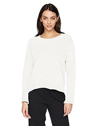 PJ Salvage Womens Chenille Cozy Sweater, Ivory, M