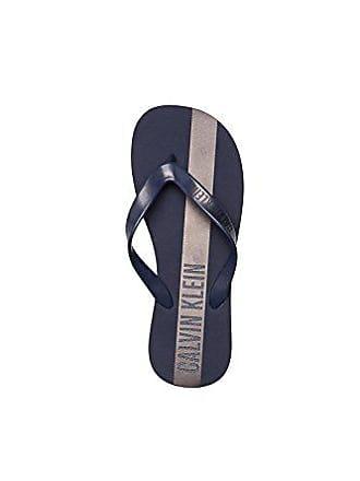 f5c5d34f3eb4e4 Calvin Klein KM0KM00208 FF Sandals Flip-Flops Herren Blue 39-40