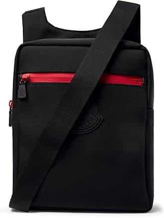 Moncler Canvas Messenger Bag - Black