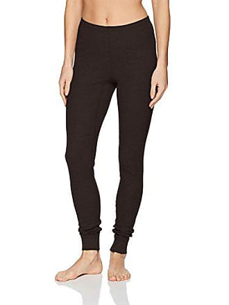 Fruit Of The Loom Womens Thermal Waffle Bottom, Black, Small