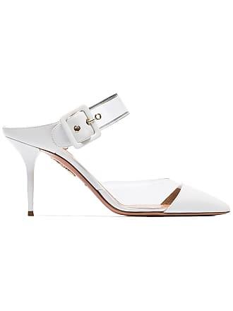 Aquazzura Sapato mule Optic 85 - Branco
