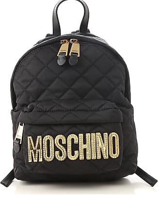 Moschino Backpack for Women On Sale, Black, polyamide, 2017, one size
