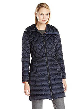 4891dbf26e56 Vince Camuto Vince Camuto Womens Lightweight Down Coat, Navy, X-Small