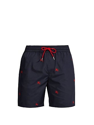 3e282c0d1d Burberry Logo Embroidered Swim Shorts - Mens - Navy Multi