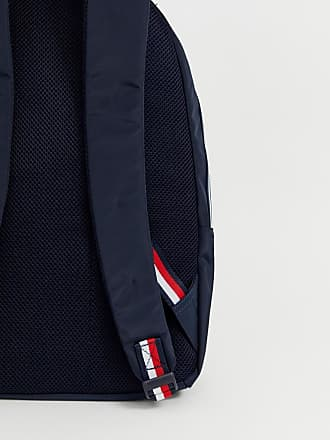 e8f04405d20 Tommy Hilfiger backpack with icon taping and flag icon in navy - Navy