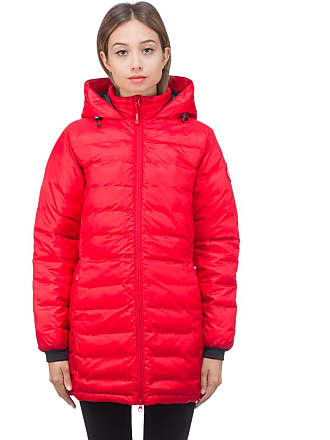 Canada Goose Camp Hooded Jacket - Red/Black
