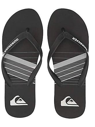 Quiksilver Molokai Print (Black Grey Black) Mens Sandals 19b106f2f53