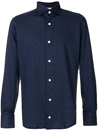 Eleventy Camisa lisa - Azul