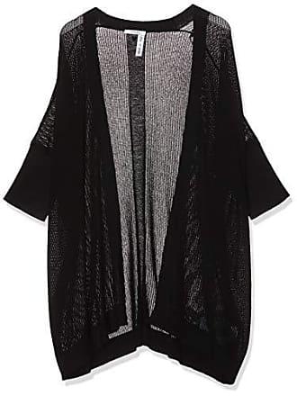 74727be181 Guess Cecile Maxi Sweater, Gilet Femme, Noir (Jet Black A996 Jblk),