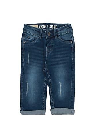 Tigor T. Tigre Calça Jeans Tigor T. Tigre Menino Lisa Azul