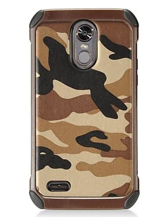 Mundaze Mundaze LG Stylo 3 Tough Anti-Shock Brown Camo Phone Case
