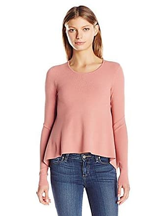 Kendall + Kylie Womens Side Draped L/s Sweater, Rose Dawn, M