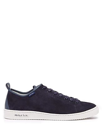 d31772ee6 Paul Smith Miyata Low Top Suede Trainers - Mens - Blue