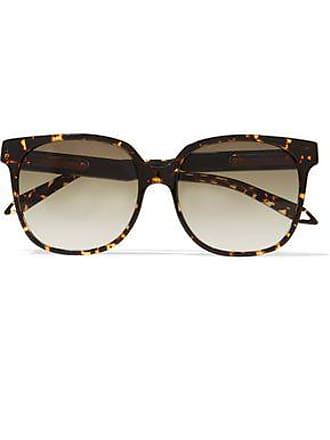 f8d9ecdc416 Victoria Beckham Victoria Beckham Woman Refined Classic Square-frame  Tortoiseshell Acetate Sunglasses Dark Brown Size