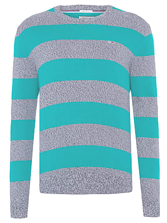 Tommy Jeans SWEATER MASCULINO RUGBY STRIPE - VERDE