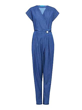 2c2926871da7 Mih Jeans Saint Cotton-chambray Jumpsuit Duffle Blue Dfb