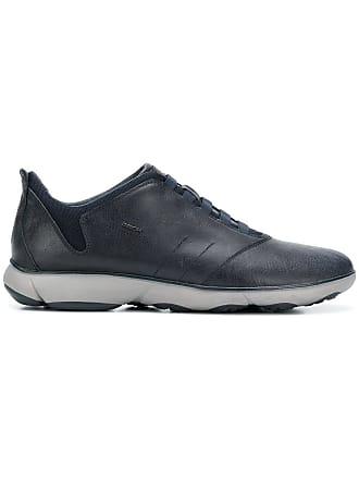 Geox classic lace-up sneakers - Blue