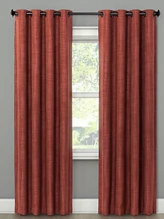 Eclipse Rowland Blackout Window Curtain Panel - Spice - Size:52x84