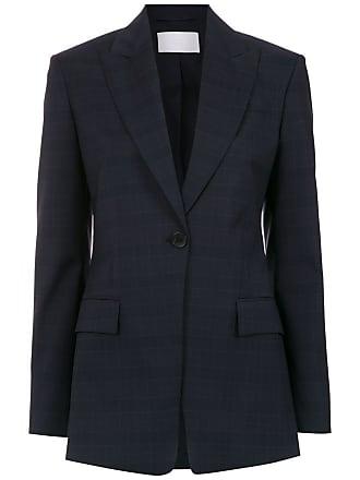 HUGO BOSS Blazer de lã - Azul