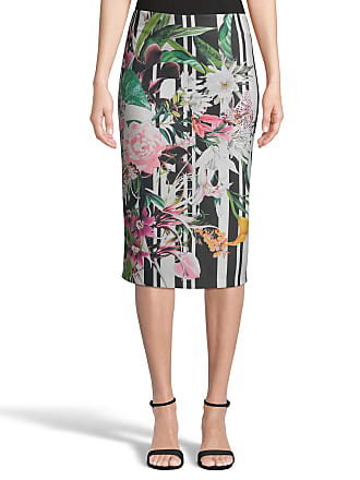5twelve Printed Scuba Knit Pencil Skirt