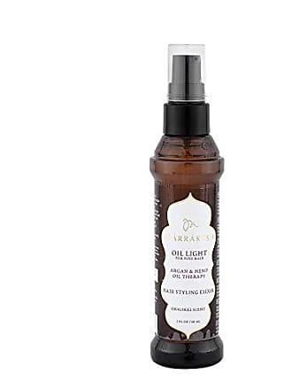 Marrakesh EARTHLY BODY by Marrakesh Hair Styling Elixir Oil for Fine Hair, Light, 2 Ounce