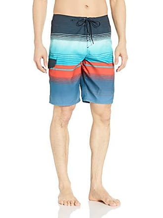 O'Neill Mens 21 Inch Outseam Ultrasuede Swim Boardshort, Midnight/Lennox, 36