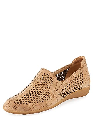 Sesto Meucci Byra Perforated Cork Comfort Loafer