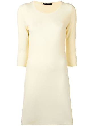 Iris Von Arnim Vestido de tricô - Amarelo