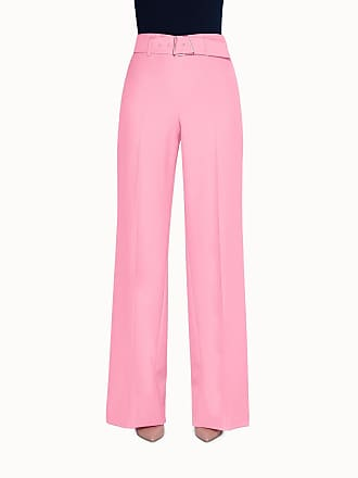 Akris Pants in Wool Double Face with Wide Leg