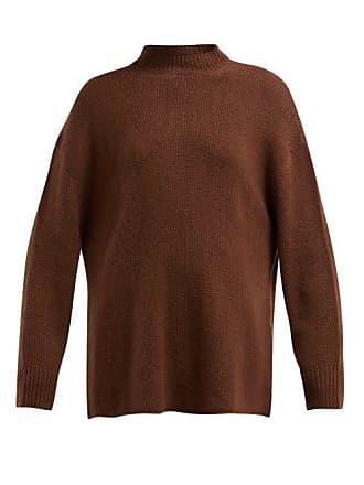 Ryan Roche Oversized Cashmere Sweater - Womens - Brown